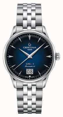 Certina DS-1 Big Date   Powermatic 80   Stainless Steel Bracelet C0294261104100