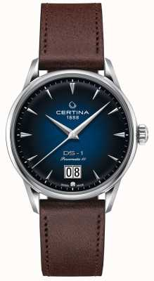 Certina DS-1 Big Date | Powermatic 80 | Brown Leather Strap C0294261604100