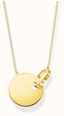 Thomas Sabo | Together Coin&Ring Necklace | Gold Plated KE1947-413-39-L45V