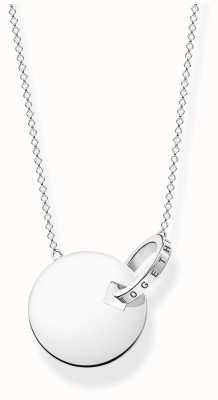 Thomas Sabo | Together Coin Necklace With Silver Ring | Sterling Silver KE1947-637-21-L45V