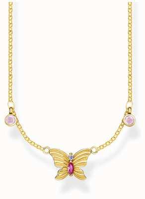 Thomas Sabo | Glam And Soul | Gold Butterfly Necklace | KE1951-488-7-L40V