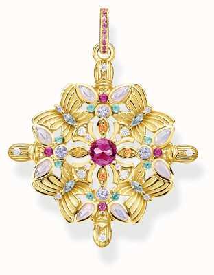 Thomas Sabo | Glam And Soul | Pendant Amulet Kaleidoscope Gold Butterfly PE877-996-7