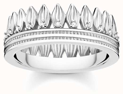 Thomas Sabo   Glam And Soul   Crown Of Leaves Ring   54 TR2282-051-14-54