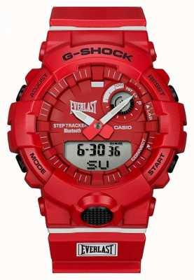 Casio G-shock | Everlast | Bluetooth | Red GBA-800EL-4AER