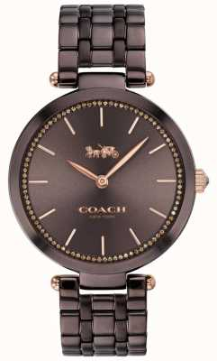 Coach | Women's Park | Black/Brown Steel Bracelet | Brown Dial 14503507