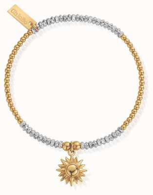 ChloBo   Sparkle Sun Bracelet   Sterling Silver/Gold GMBCRDB1091