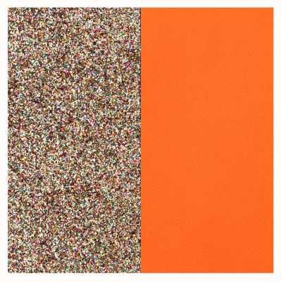 Les Georgettes 14mm Leather Insert | Multicoloured Glitter/Tangerine 702145899DM000