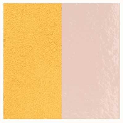 Les Georgettes 14mm Leather Insert | Patent Light Pink/Lemon Yellow 702145899DT000