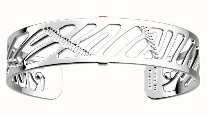 Les Georgettes 14mm Zebrures Silver Finish Bangle 70346601600000