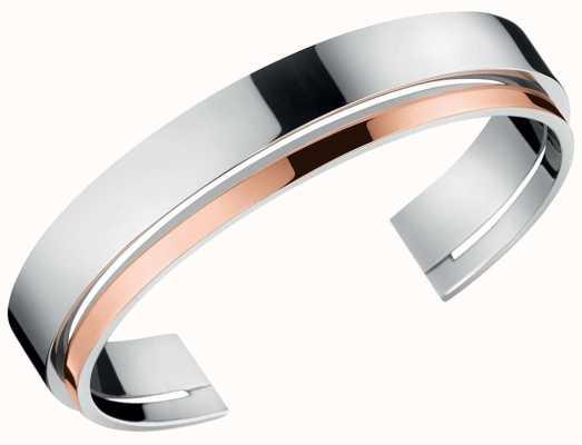 Calvin Klein | Unite | Stainless Steel Open Bangle | KJ6APF20010M