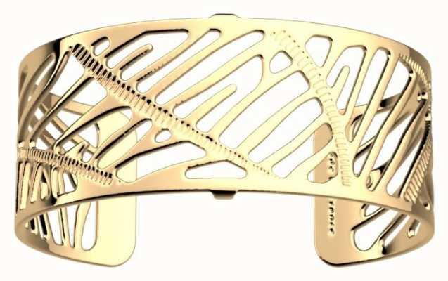 Les Georgettes 25mm Zebrures Rose Gold Plated Bangle 70346610100000
