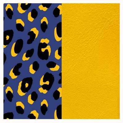 Les Georgettes 14mm Leather Insert | Leopard Print/Sun 702145899P5000