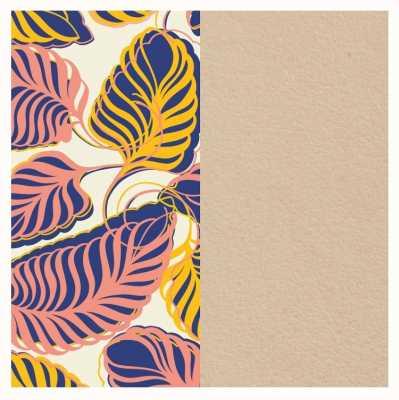 Les Georgettes 14mm Leather Insert | Leaves/Cream 702145899PB000