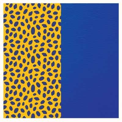 Les Georgettes 14mm Leather Insert | Cheetah Print/Royal Blue 702145899PD000