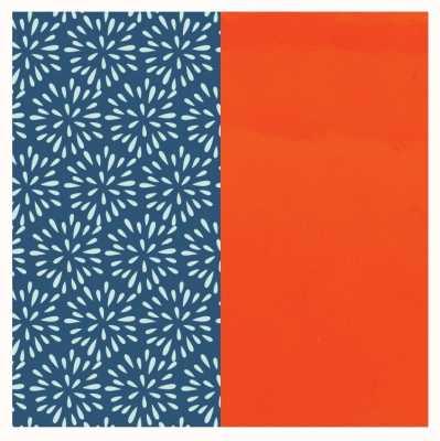 Les Georgettes 25mm Leather Insert | Plumetis/Patent Orange 702755199P6000
