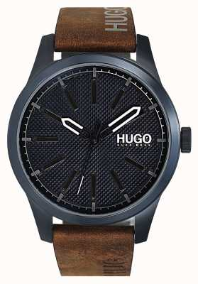 HUGO #INVENT | Blue Dial | Brown Leather Strap 1530145