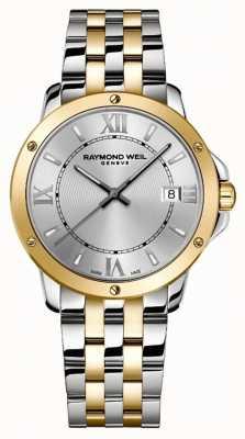 Raymond Weil Men's | Tango | 2 Tone Steel Bracelet | Silver Dial 5591-STP-00657