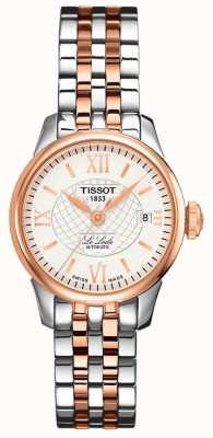 Tissot Women's | Le Locle | Automatic | Two Tone Rose Steel T41218316