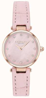 Coach | Women's Park | Blush Calf-Skin Strap |Mother Of Pearl Dial 14503537