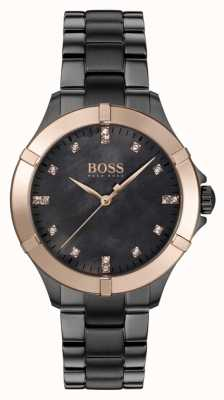 BOSS | Women's Mini Sport | Grey Steel Bracelet | Mother Of Pearl 1502470