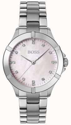 BOSS | Women's Mini Sport | Silver Steel Bracelet | Silver Dial | 1502469