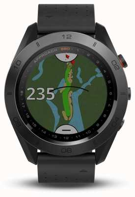 Garmin Approach S60 | Premium | Ceramic Bezel | Leather Strap 010-01702-02