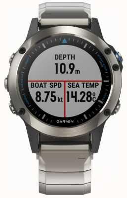 Garmin Quatix 5 | Sapphire | Marine Smartwatch 010-01688-42