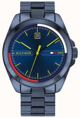 Tommy Hilfiger Riley | Blue IP Steel Bracelet | Blue Dial 1791689