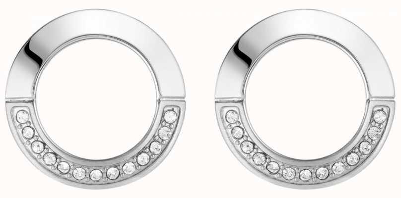 BOSS Jewellery Ophelia Stainless Steel Round Earring Studs 1580027
