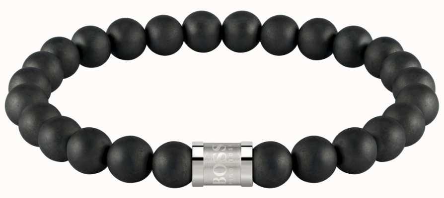 BOSS Jewellery Beads For Him Black Onyx 180mm 1580042M