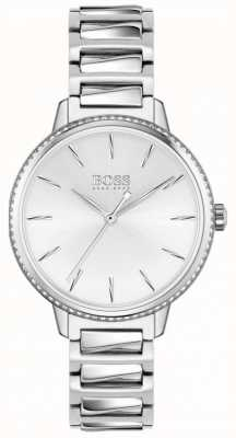 BOSS | Women's Signature | Stainless Steel Bracelet | Silver Dial 1502539