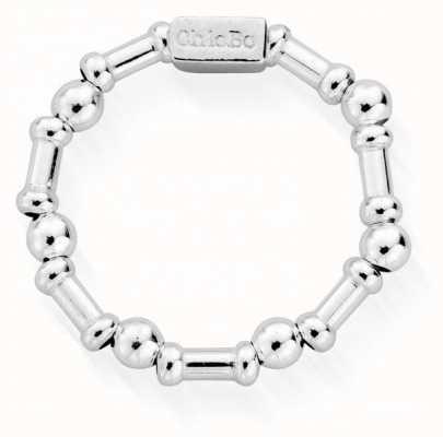 ChloBo Rhythm Of Water Ring   Sterling Silver   Medium SR2RHYTHM