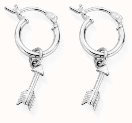 ChloBo Life Launch Hoop Earrings | Sterling Silver SEH3002