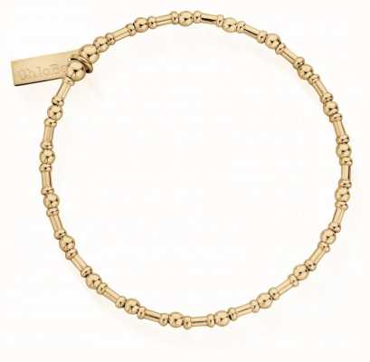 ChloBo Rhythm Of Water | Gold Bead Bracelet GBRHYTHM