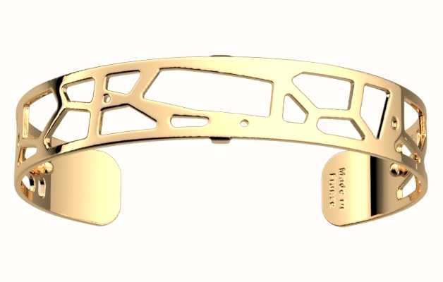 Les Georgettes 14mm Girafe Gold Plated Wide Fit Bangle 70299450100000