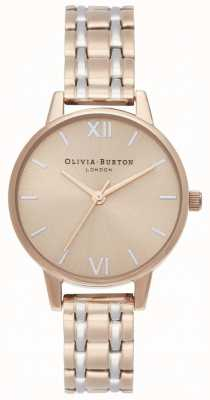 Olivia Burton | The England Collection | Two-Tone Steel Bracelet | OB16EN02
