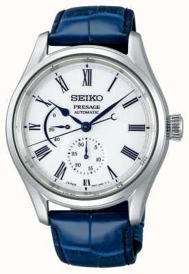 Seiko Presage Limited Edition Porcelain Dial | Blue Leather Strap SPB171J1