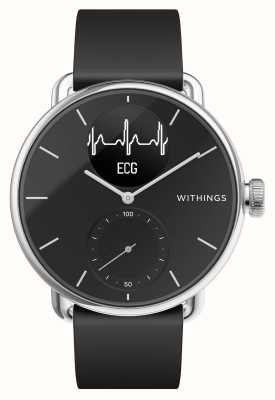 Withings Scanwatch 38mm Black - Hybrid Smartwatch with ECG HWA09-MODEL 2-ALL-INT