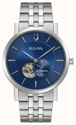 Bulova America Clipper | Automatic | Blue Dial | Stainless Steel 96A247