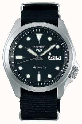 Seiko 5 Sport | Automatic | Black Fabric Strap SRPE67K1