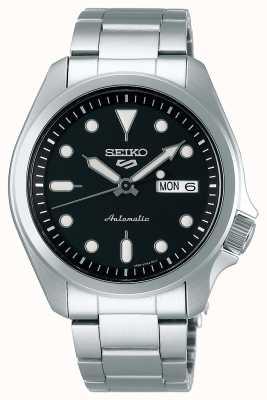 Seiko Men's 5 Sports Automatic Watch | Black Dial SRPE55K1