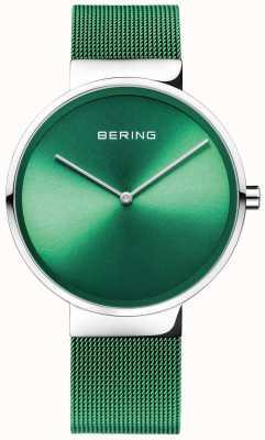 Bering Classic | Green Mesh Strap | Green Dial 14539-808