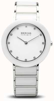Bering Women's Ceramic | White Ceramic Bracelet | White Dial 11434-754