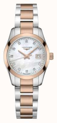 Longines Conquest Classic | Women's | Swiss Quartz | Two-Tone L22863877