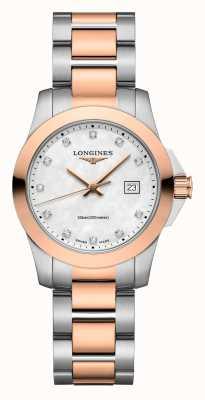 Longines | Conquest Classic | Women's | Swiss Quartz | Two-Tone L33763887