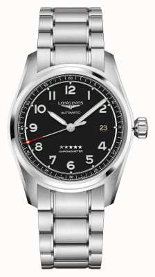 Longines Spirit | Men's | Swiss Automatic | Stainless Steel Bracelet L38104539