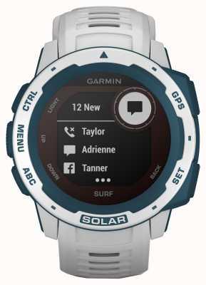 Garmin Instinct Solar GPS Surf Edition Cloudbreak Rubber Strap 010-02293-08