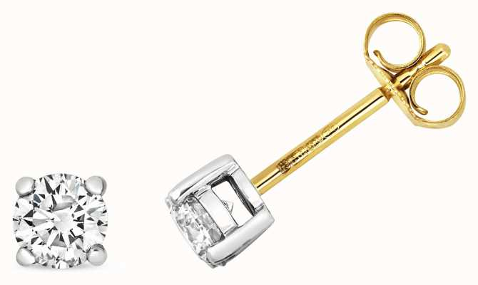 Treasure House 9k Gold 0.60ct Diamond Studs ED364