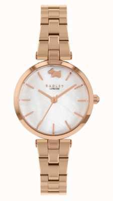 Radley West View | Rose Gold Steel Bracelet | White Dial RY4510