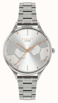 Radley Face To Face | Stainless Steel Bracelet |Silver Dial RY4513